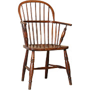 Sack Back Windsor Chair, 19th-Century, English
