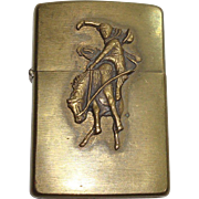 SALE Zippo Marlboro Country Bucking Horse and Rider Lighter