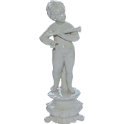 "Vintage porcelain figurine ""God of love"""