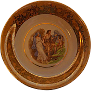 Vintage Bavaria plate Jaeges and Co. german porcelain