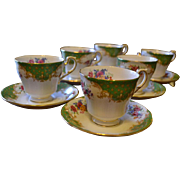 Vintage Paragon set of tea cups and saucers
