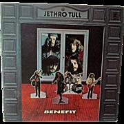 Vintage Record Vinyl Jethro Tull Benefit Album R 6400 Excellent Condition