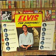 Vintage Vinyl Record Elvis For Everyone! Circa 1965 LSP-3450