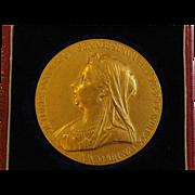 Diamond Jubilee Victorian Gold Medal