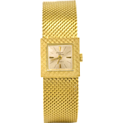 Exceptional Condition Germinal Voltaire Gold Plated Lady's 17 Jewel Swiss Made Watch