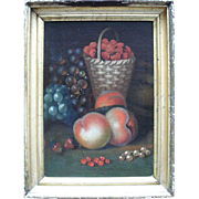 SALE English School, William Jones of Bath.  18th Century Still Life Oil Painting.