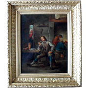 SALE After David Teniers the Younger (1610 –1690) Flemish School  Oil Painting