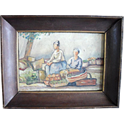 French school c1930 follower of Andre Derain, Oil Painting