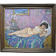 Russian Impressionist School Kirillov 20th century Oil Painting