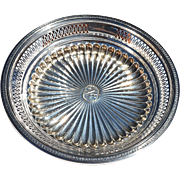 REDUCED Circular Pierced Sterling Silver Centerpiece Marked for Gorham 1922 Pinehurst, NC, Gol