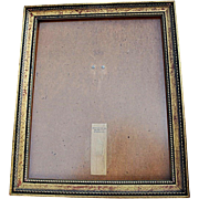 REDUCED Vintage Over-Sized Gilt-Wood Frame for Portrait, Wedding Photograph, Art