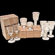 REDUCED 18 Piece 'Juniper' Glassware Set by Artland, Inc.: 6 Wine, 6 Highball & 6 DOF