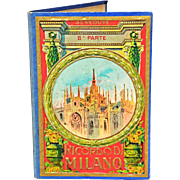 REDUCED Charming Vintage Tourist Souvenir Photo Book of Milan's Duomo