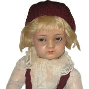RARE Kammer & Reinhardt celluloid doll 717 -- 23 inch
