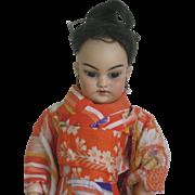Oriental Simon & Halbig doll 1129 DEP 4   12,5 inch