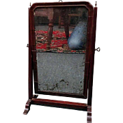 18th C. Queen Anne Dressing Mirror