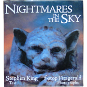 Book NIGHTMARES IN THE SKY with text by Stephen King, f-stop Fitzgerald photos 1988