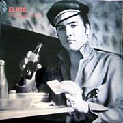 Elvis Presley vinyl album ELVIS VINTAGE 1955 on Oak Records from 1990, SEALED copy