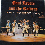 Original 1960s Paul Revere and The Raiders concert program