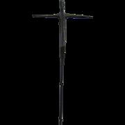 SALE Mid Century Original Bronze Crucifixion Jesus Christ Sculpture SIGNED
