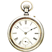 Antique Waltham Pocket Watch CA1886