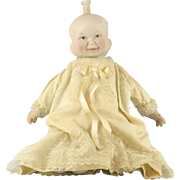 SOLD Vintage 3 Faces Bisque Doll with Cloth Body