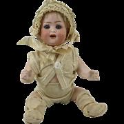 "SOLD Antique Heubach Koppelsdorf Bisque Baby Doll Mold 300 8"""