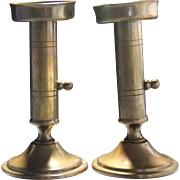 Peter Jensen Kobenhavn brass candlesticks