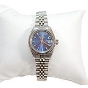 SALE Ladies Stainless Oyster Perpetual Date Rolex