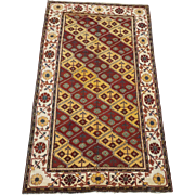 SALE Antique 5X9 Agra Circa 1880 Hand-Knotted Area Rug Oriental Carpet (5 x 9.5)