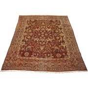 SALE 14X15 Antique 1890 Amritsar Oriental Hand Knotted Wool Area Rug Carpet