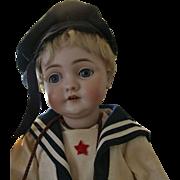 """SOLD Adorable Antique 19"""" Kestner 143 Character Child Doll"""