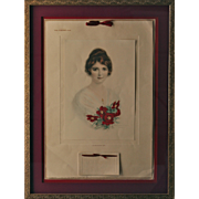 "Exceptional 1915 Calendar, William Haskell Coffin Company ""The Osborne Man"""