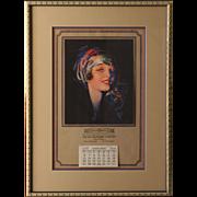 1929 Calendar, Mayer Marks Company, Rolf Armstrong artist