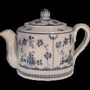SALE Rare Antique 18th Century Limbach Small Porcelain Tea Pot .