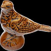 Bird Majolica Bank
