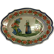 HR Quimper Serving Platter