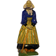 Nicot figure - Elderly Bretonne Lady