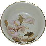 Hand Painted Prussia Bowl Circa 1880-1912