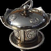 Sterling Lotus Lantern Salt/Pepper Shaker