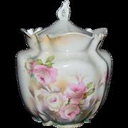 R.S. Prussia Biscuit Jar