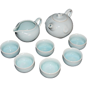 Fine Porcelain Tea Set of Kaolin Clay