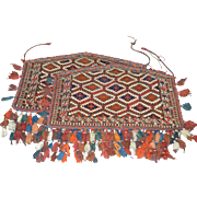 Turkmen Tribal Camel Rugs- Pair Circa Late 19th Century