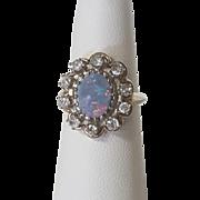 Opal & Diamond RIng