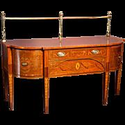 An English 19th century Mahogany Sideboard