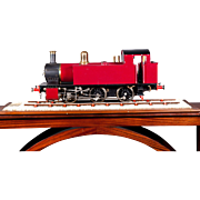 "An English Built 5"" Gauge live steam locomotive, circa 1985"