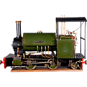 "An English built 5"" Gauge live steam locomotive ""Sweet Pea"", circa 1995."