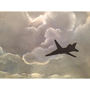 An Aviation oil painting by Kenneth Youens.