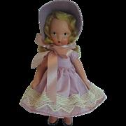 Vintage Nancy Ann Storybook Doll #118 Little Miss Muffet