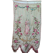 Embroidery on Silk and Cotton from the Roman Catholic Church, Vietnam